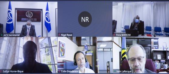 SG Sabonge se reúne con el ministro Rodolfo Solano Quirós de Costa Rica