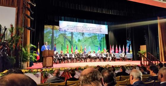 37ª Reunión Ordinaria de la Conferencia de Jefes de Gobierno de la Comunidad del Caribe