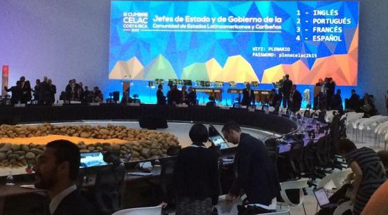 La III Cumbre de la Comunidad de Estados Latinoamericanos y Caribeños (CELAC)
