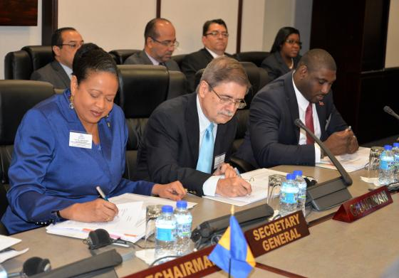 Reunión del Comité Especial de Presupuesto y Administración