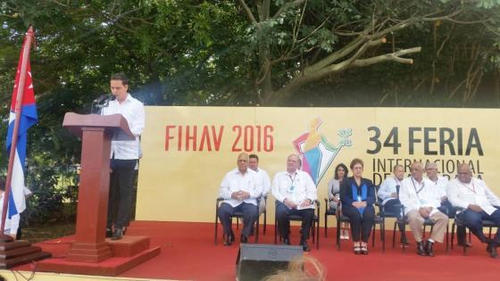 Participación AEC en XXXIV Feria Internacional de La Habana (FIHAV 2016)