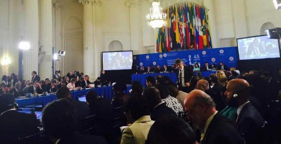 XLV Asamblea General de la Organización de Estados Americanos