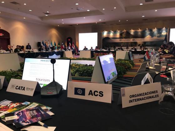 AEC en 61ª Comisión de la OMT para las Américas