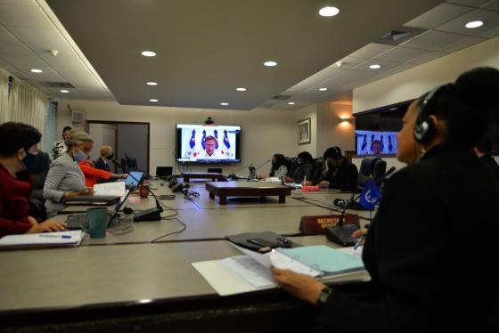 XXIII Reunión Intersesional Preparatoria del Consejo de Ministros