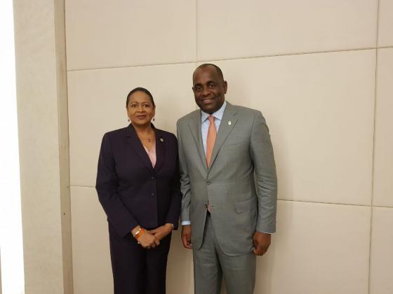 Secretaria General Asiste a la Reunión de los Jefes de Gobierno de CARICOM