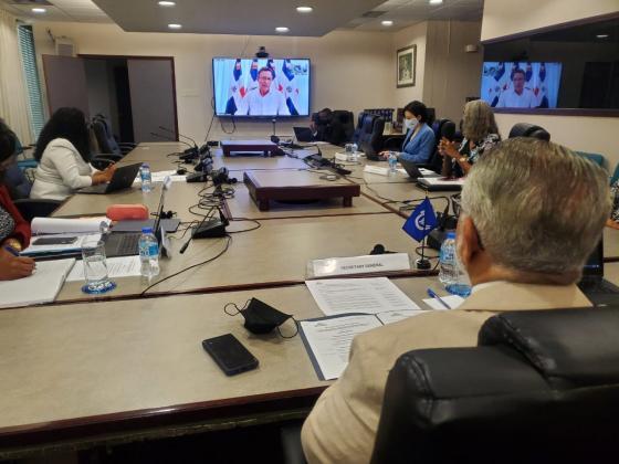 SG Sabonge se reúne con el Presidente del Consejo de Ministros 2020/2021