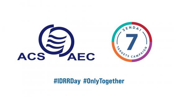 Ce n'est qu'ensemble que nous pourrons être plus résilients - Journée internationale de la réduction des risques de catastrophe