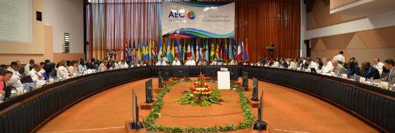 Réunion préparatoire de la 8ème réunion extraordinaire du Conseil des ministres de l'AEC