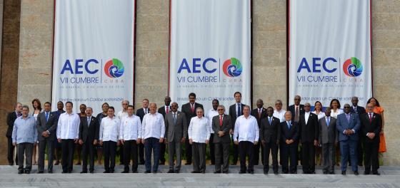 VII Sommet des Chefs d'Etat et / ou de gouvernement de l'Association des États des Caraïbes