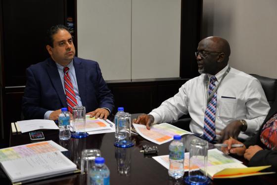 L'AEC et La CARICOM IMPACS Discutent Sécurité des Visiteurs