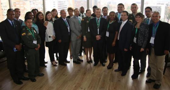 Une assistance technique dans le domaine de la Sécurité des Touristes offerte par le Gouvernement de la Colombie aux Etats Membres de l'AEC