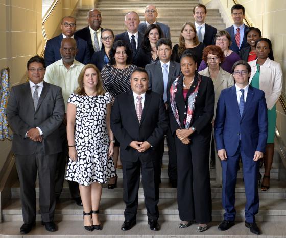 Reunión de Organizaciones Regionales e Iinstituciones Internacionales por la OEA