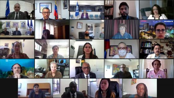 XXIe Réunion de la Commission de la Mer des Caraïbes (CMC)