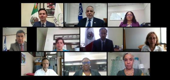 8e réunion intersecrétariats de l'AEC