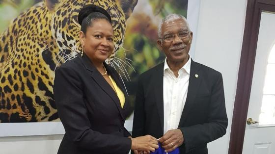 SG meets with President Granger