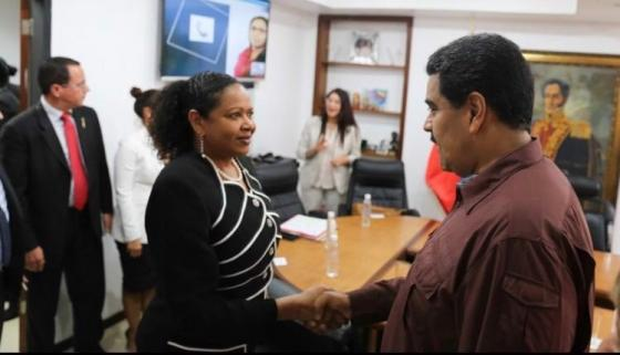 SG meets with President Maduro & Ministerial Council Chair