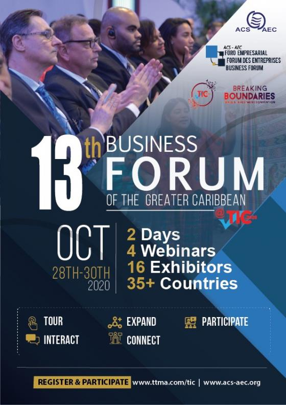 13th ACS Business Forum of the Greater Caribbean