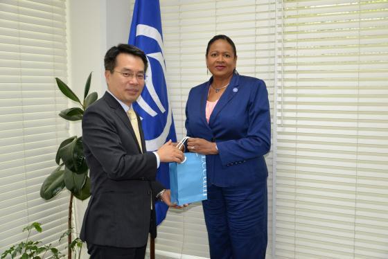 SG Meets New Korean Ambassador to T&T