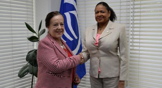 SG Meets New Mexican Ambassador to T&T