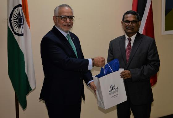 SG Sabonge Meets with Observer India