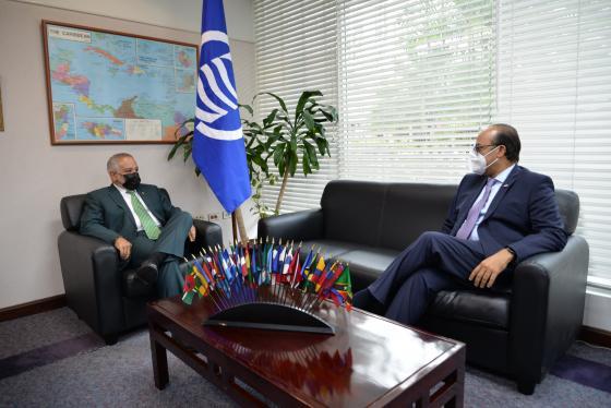 SG Meets with New Dominican Republic Ambassador