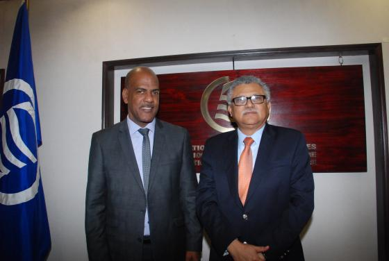 Secretary General of the Association of Caribbean States receives a courtesy visit from the President of the Regional Council of Martinique