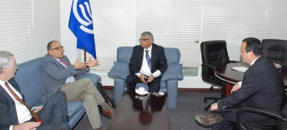 Secretary General of the ACS meets with representatives from INEGI and AMEXCID