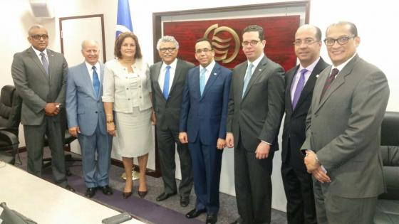 Minister of Foreign Affairs of the Dominican Republic visits ACS