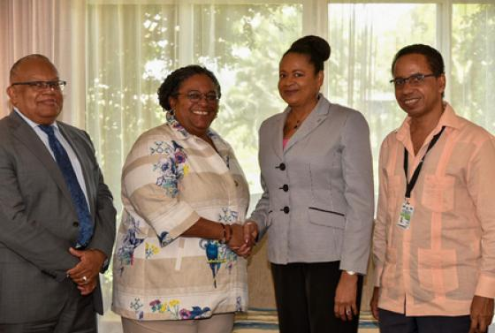 SG Soomer at Caricom Heads of Government Meeting