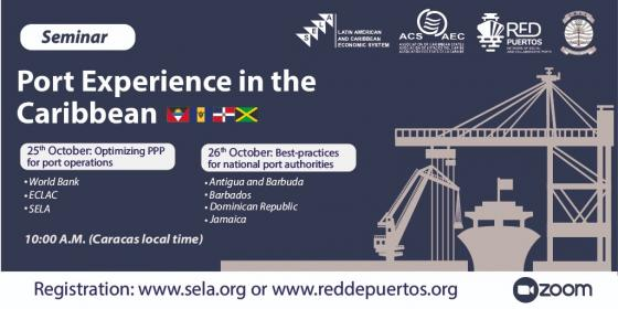 ACS, SELA & Port Management Association of the Caribbean to Host Seminar