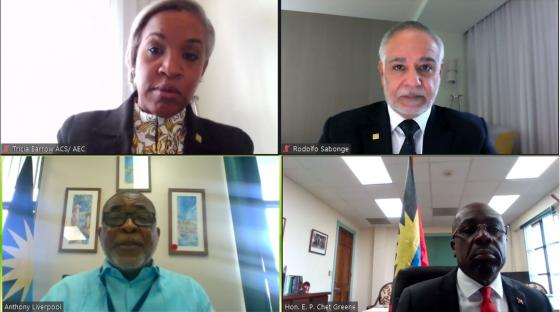 ACS Delegation Meets with Antigua and Barbuda
