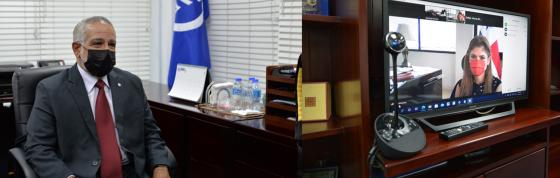SG Sabonge Meets with Panama Foreign Minister