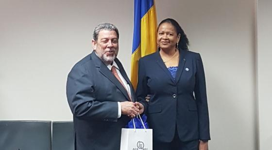 SG meets with PM Dr Gonsalves