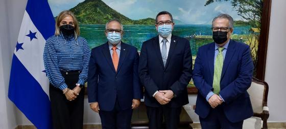 SG Meets with Honduras Undersecretary of State